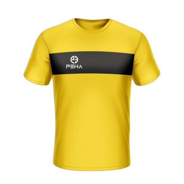 Koszulka sportowa PEHA Ferraro żółta