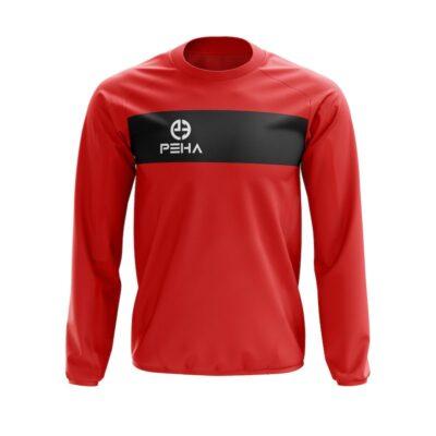 Bluza dresowa PEHA Ferraro czerwona