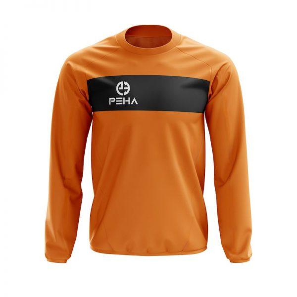 Bluza dresowa PEHA Ferraro pomarańczowa