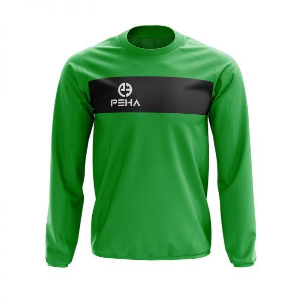 Bluza dresowa PEHA Ferraro zielona