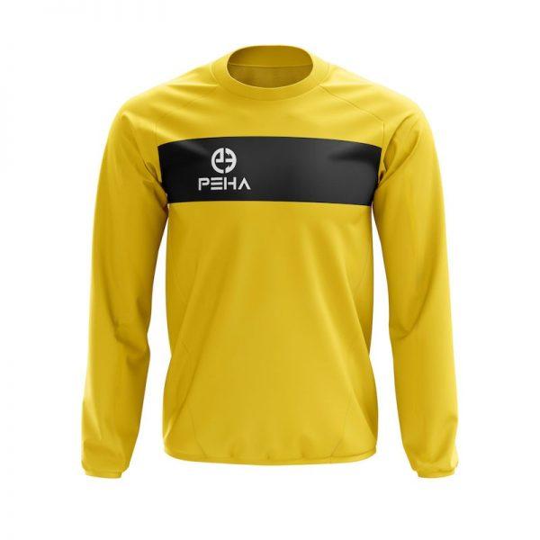 Bluza dresowa PEHA Ferraro żółta