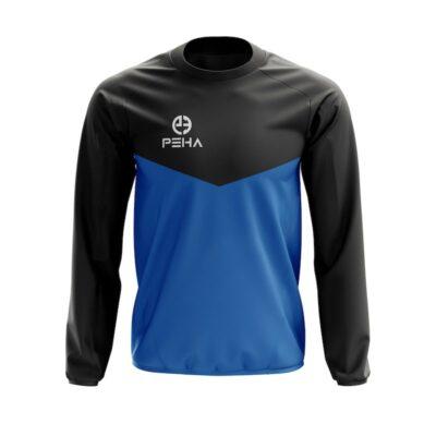 Bluza dresowa PEHA Rico czarno-niebieska