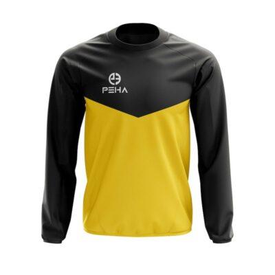 Bluza dresowa PEHA Rico czarno-żółta