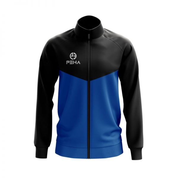 Bluza rozpinana PEHA Rico czarno-niebieska