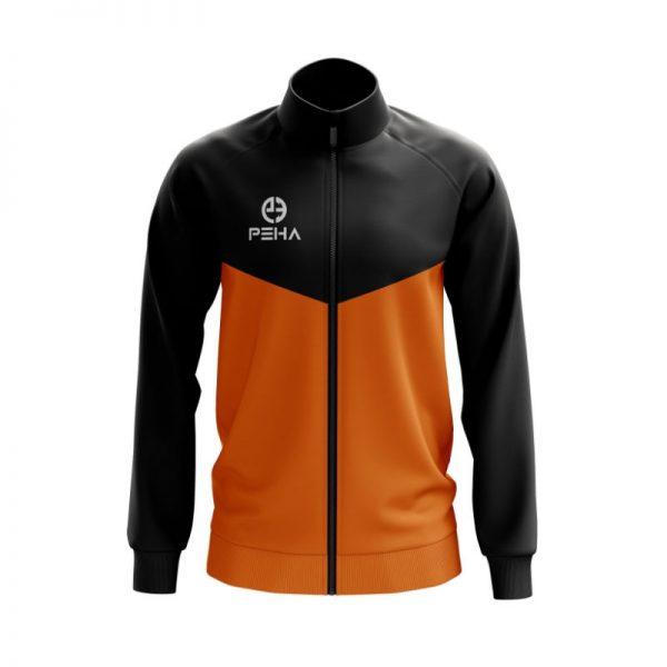 Bluza rozpinana PEHA Rico czarno-pomarańczowa