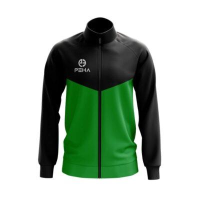 Bluza rozpinana PEHA Rico czarno-zielona