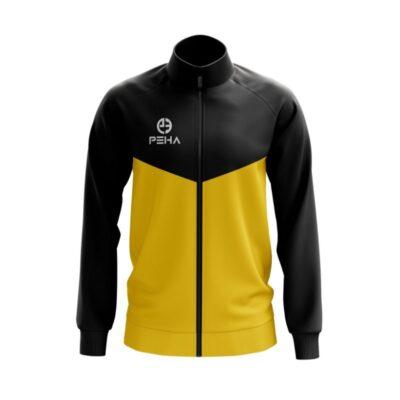 Bluza rozpinana PEHA Rico czarno-żółta