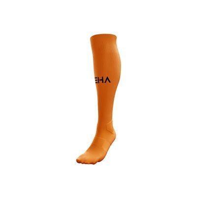 Pomarańczowe getry piłkarskie PEHA