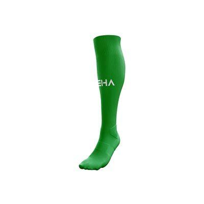 Zielone getry piłkarskie PEHA