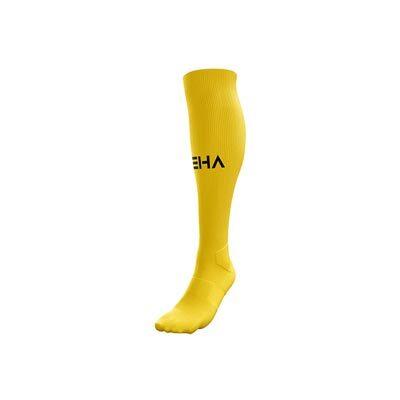 Żółte getry piłkarskie PEHA