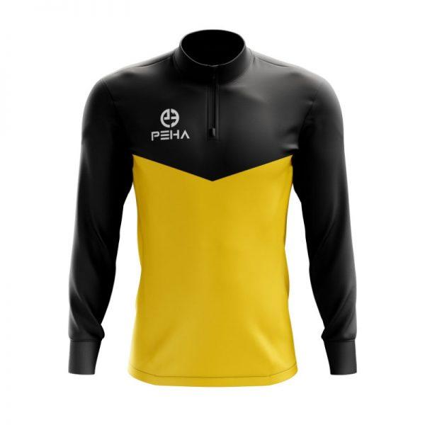 Top treningowy PEHA Rico czarno-żółty