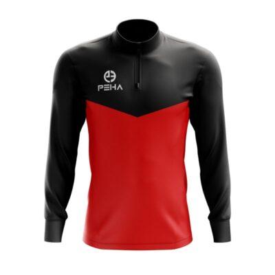 Top treningowy PEHA Rico czarno-czerwony