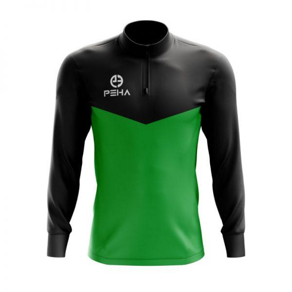 Top treningowy PEHA Rico czarno-zielony