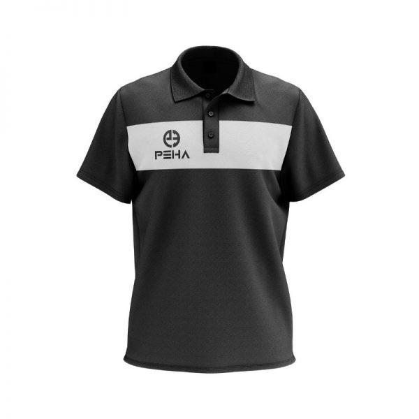 Koszulka polo PEHA Ferraro czarna