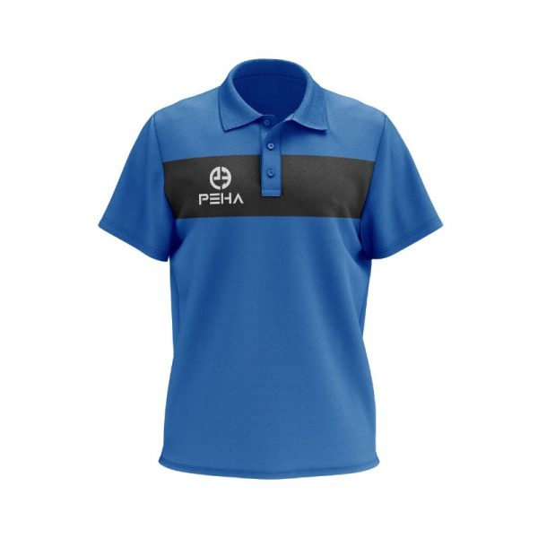 Koszulka polo PEHA Ferraro niebieska