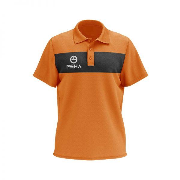 Koszulka polo PEHA Ferraro pomarańczowa