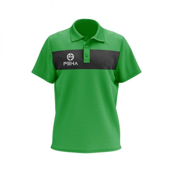 Koszulka polo PEHA Ferraro zielona