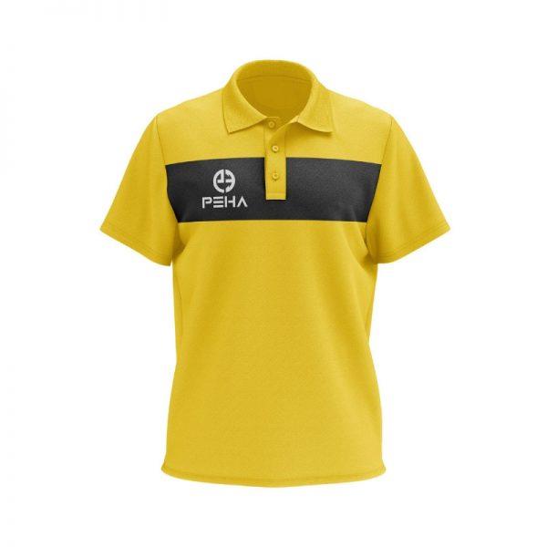 Koszulka polo PEHA Ferraro żółta
