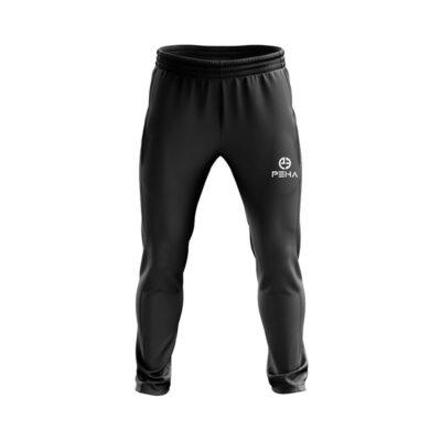 Spodnie piłkarskie zwężane zakończone ściągaczem
