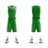 Strój koszykarski PEHA Dallas zielono-biały