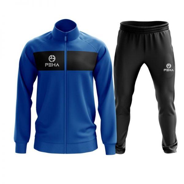 Dres piłkarski PEHA Ferraro niebieski rozpinany