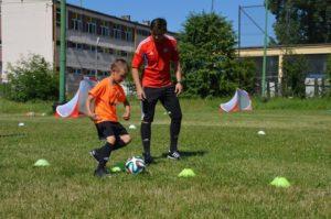 Trening indywidualny piłki nożnej