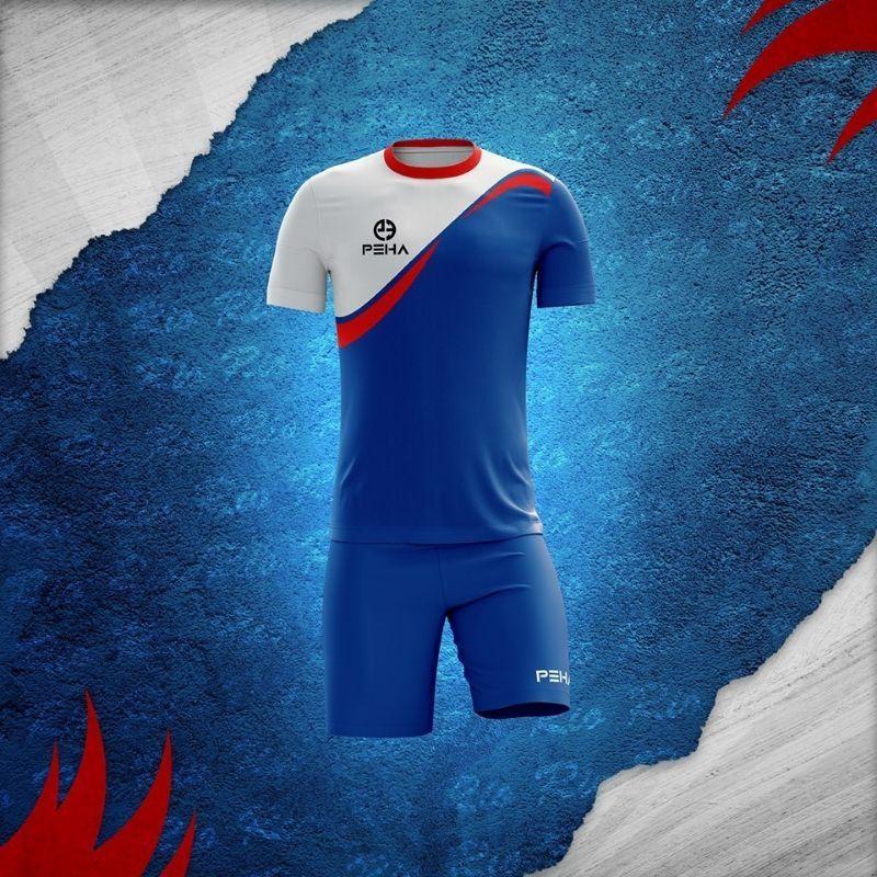 Stroje piłkarskie marki sportowej PEHA