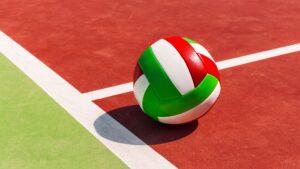 System challenge w siatkówce - piłka w boisku