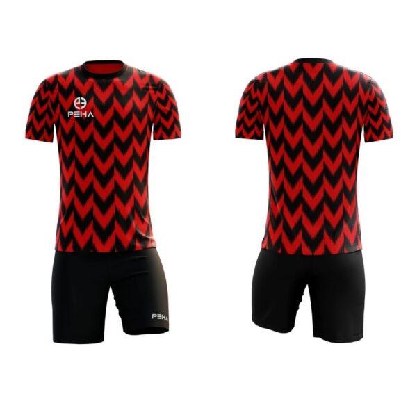 Stroje Vigo czerwono-czarny