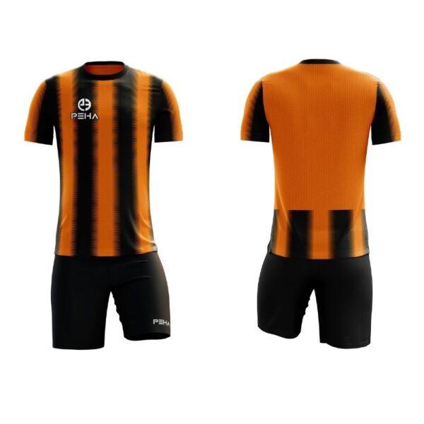 Strój siatkarski PEHA Striped pomarańczowo-czarny