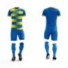 Strój piłkarski PEHA Ezro niebiesko-żółty